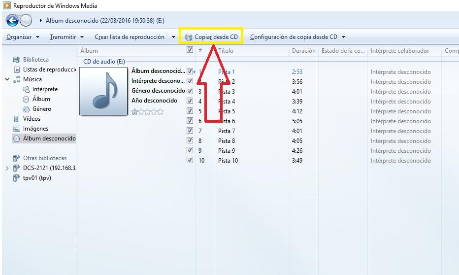 PASSAR LA NOSTRA MÚSICA A MP3 3